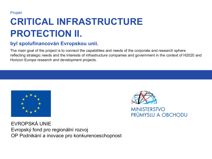 PROJECT CRITICAL INFRASTRUCTURE PROTECTION II.